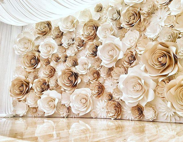 backdrop hoa giấy Hà Nội