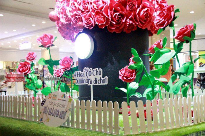 hộp hoa khổng lồ