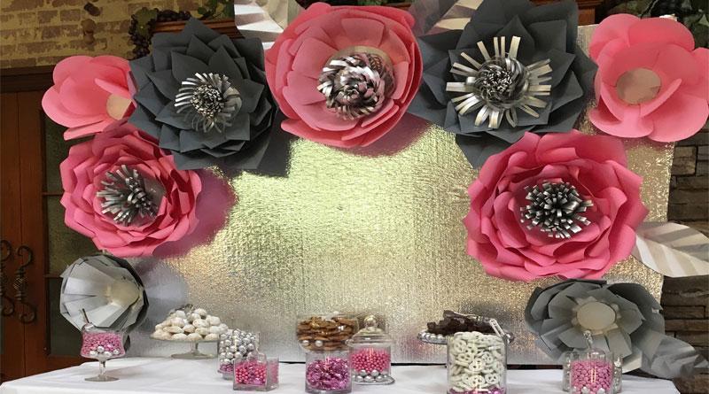 Các loại hoa giấy trang trí thông dụng