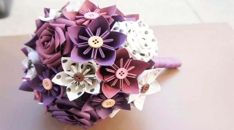 Dạy làm hoa giấy trang trí sự kiện