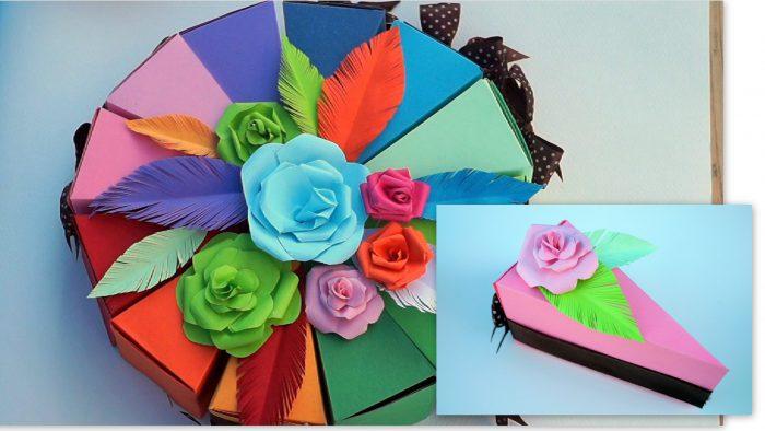 giấy mỹ thuật làm hoa
