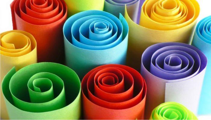 giấy mỹ thuật làm hoa đẹp
