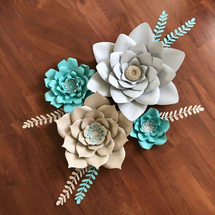 nhận làm hoa giấy trang trí