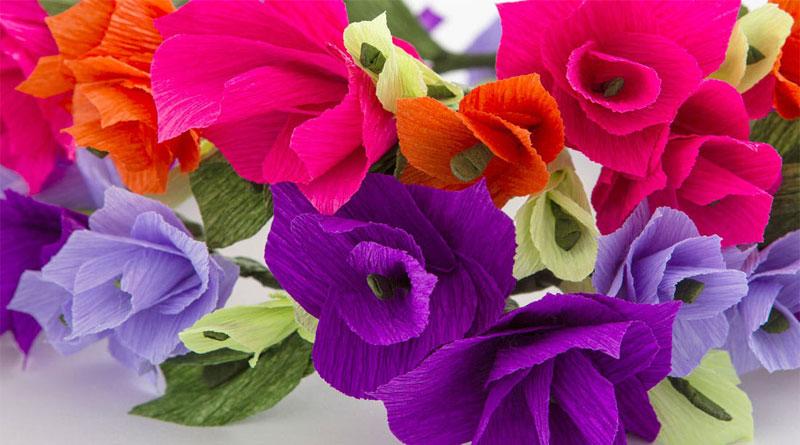 Các mẫu hoa giấy để trang trí phần 3