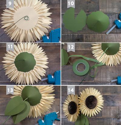 các mẫu hoa giấy để trang trí2