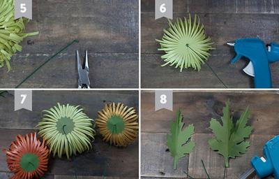 các mẫu hoa giấy để trang trí5