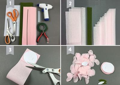 các mẫu hoa giấy trang trí
