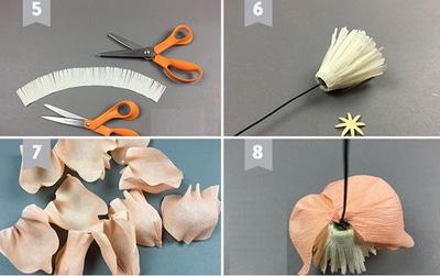 các mẫu hoa giấy trang trí7