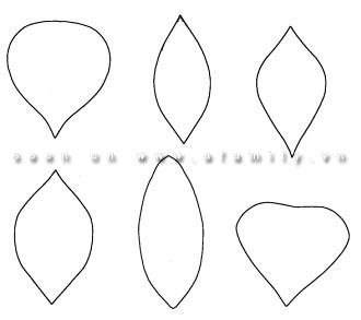 cách làm hoa giấy 3d