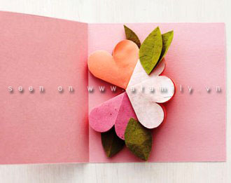 cách làm hoa giấy 3d5