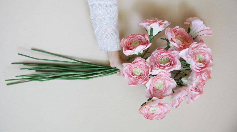 Cách làm hoa giấy đẹp bạn nên xem