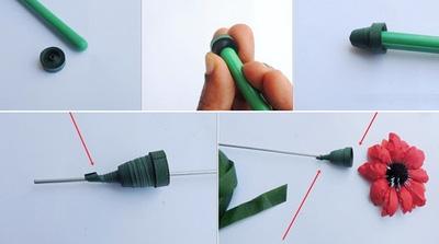 cách làm hoa giấy siêu dễ4