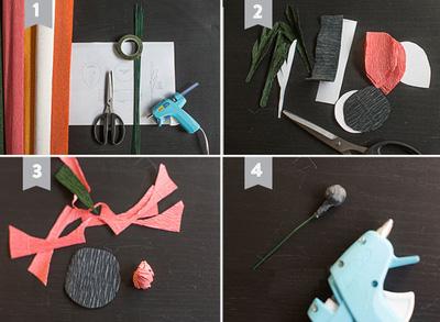 cách làm hoa giấy trang trí1