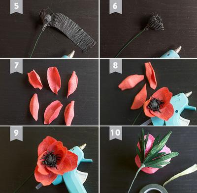 cách làm hoa giấy trang trí2