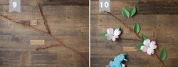 dạy làm 2 mẫu hoa giấy3