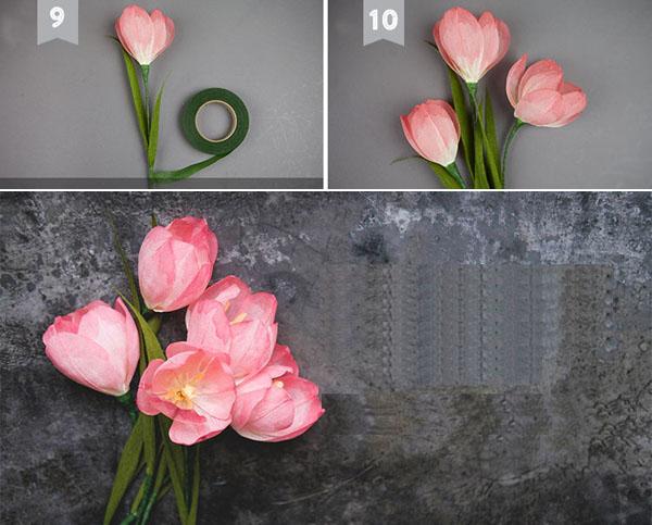 hướng dẫn làm hoa10