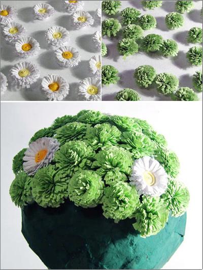mẫu hoa giấy xanh2