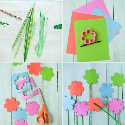 mẫu hoa giấy