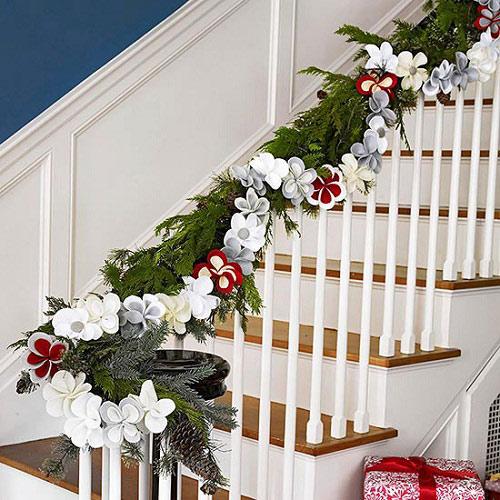 Hướng dẫn trang trí Noel trên tường cho bạn