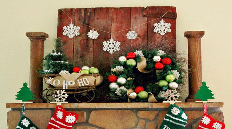 Hướng dẫn trang trí Noel bằng giấy đơn giản