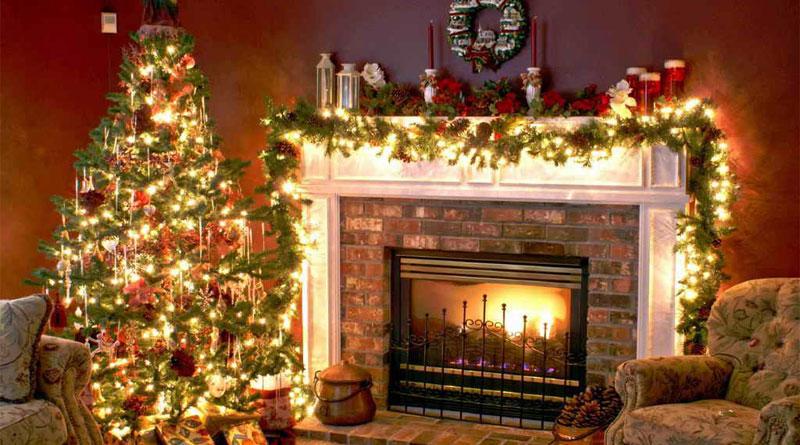 Trang trí Noel trong nhà đầy mới lạ