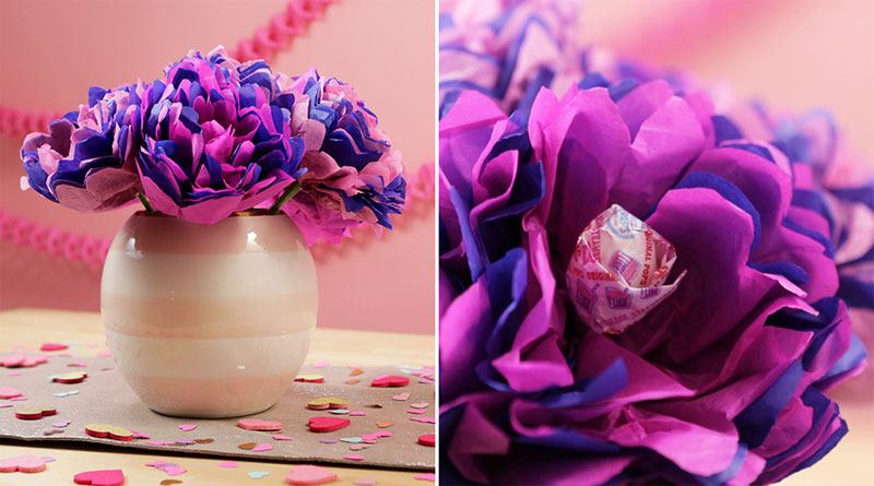 Hoa giấy valentine với những ý nghĩa thú vị tuyệt vời