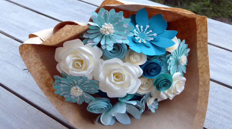 Hướng dẫn làm hoa giấy đẹp tặng người yêu