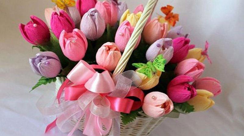3 hướng dẫn làm hoa trang trí cho bạn