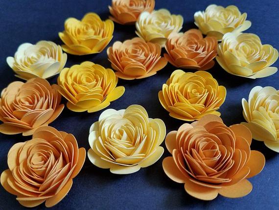 tự làm hoa giấy trang trí phông cưới1