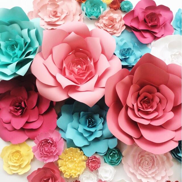 Giấy mỹ thuật làm hoa 8k đẹp