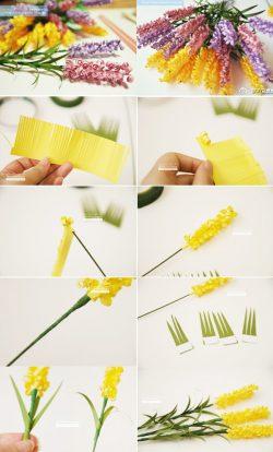 mẹo 3 cách làm hoa giấy đơn giản