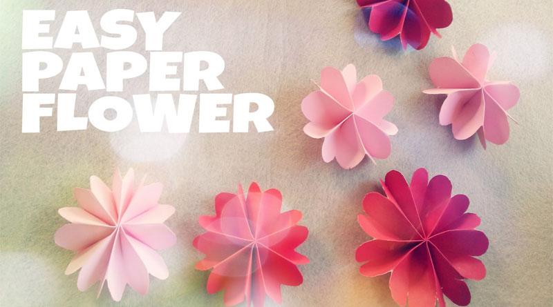 Các mẫu hoa giấy để trang trí cực đẹp