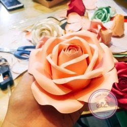 hướng dẫn làm hoa giấy