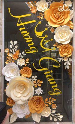 hướng dẫn làm hoa giấy tặng ny