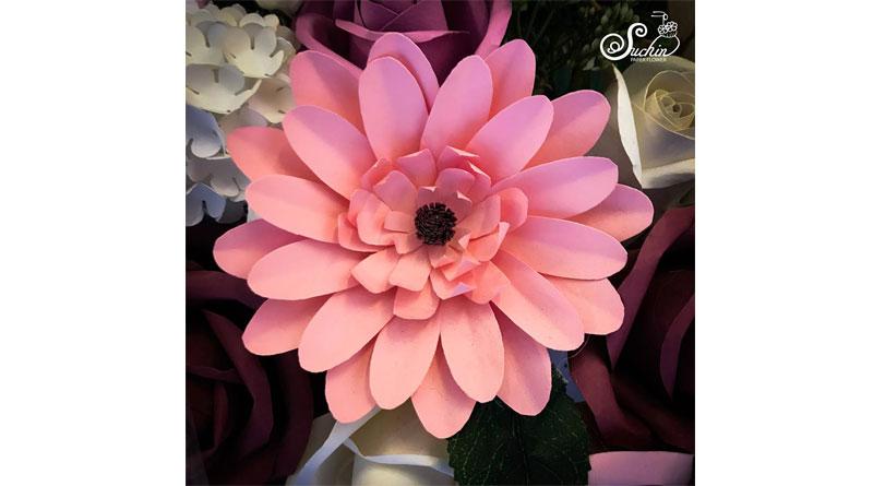 Hướng dẫn làm hoa giấy tặng người yêu
