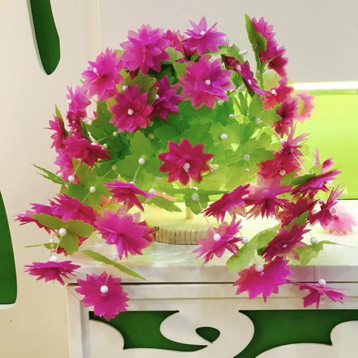 mua các nguyên liệu làm hoa giấy lụa giá rẻ