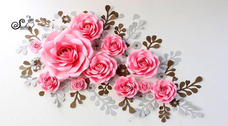 Nguyên liệu làm hoa giấy tại HN