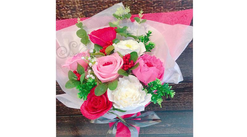Nguyên liệu làm hoa giấy đẹp tại Hà Nội