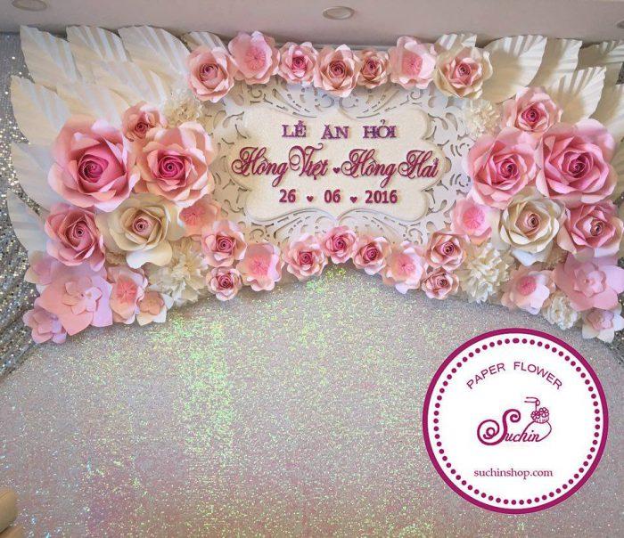 backdrop sự kiện cưới