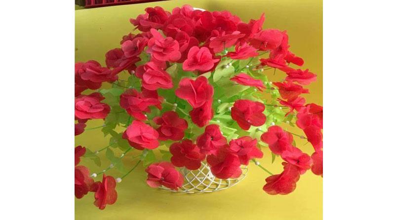 Bộ nguyên liệu làm hoa giấy lụa gồm những gì?