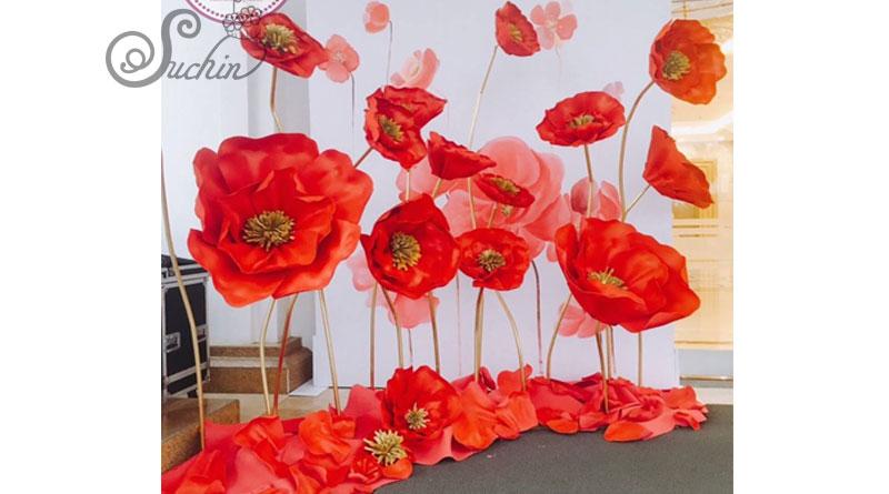 Các nguyên liệu làm hoa giấy mua ở đâu Hà Nội