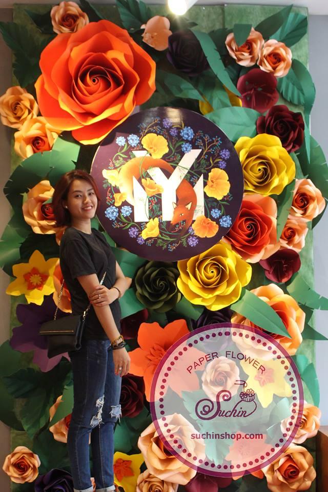 làm hoa giấy nghệ thuật Hà Nội