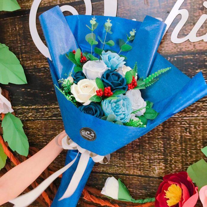 chọn giấy làm hoa handmade