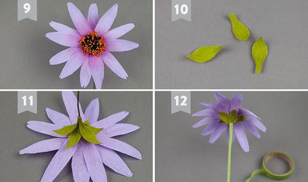 dạy làm hoa giấy nghệ thuật2