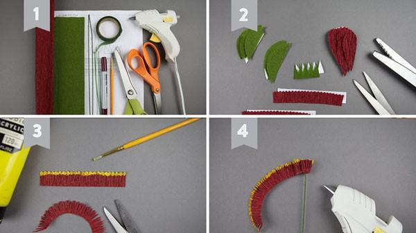 dạy làm hoa giấy nghệ thuật5