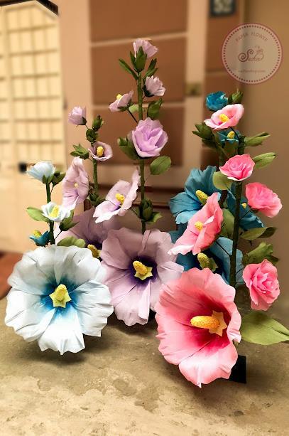 giấy làm hoa giả