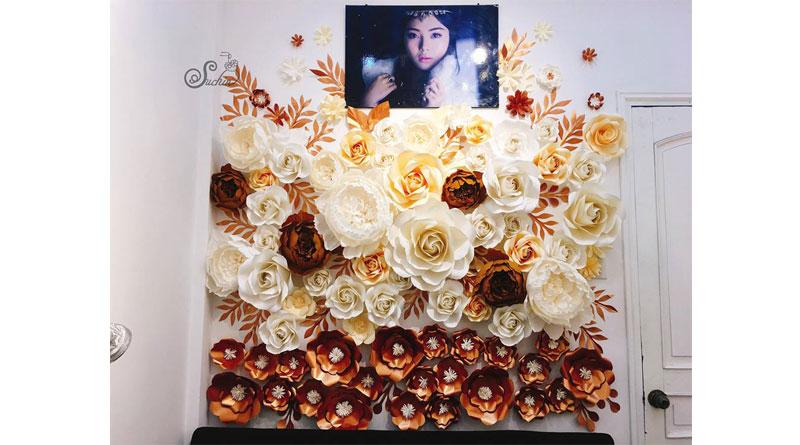 Mua giấy làm hoa backdrop Suchin shop
