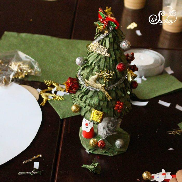trang trí noel bằng đồ handmade suchin