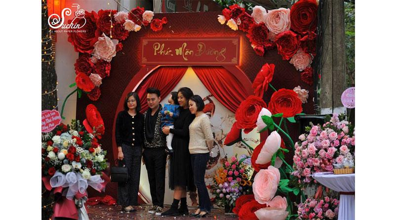 Hoa giấy trang trí ở đâu làm hoa giấy khổng lồ đẹp nhất?