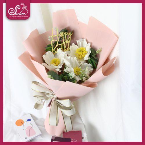 Bó hoa cúc 3 bông